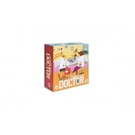 Puzzle - I want to be..doctor/Chcem byť doktor