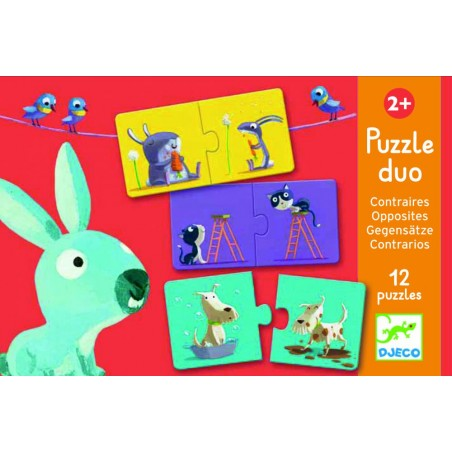 Puzzle duo Protiklady