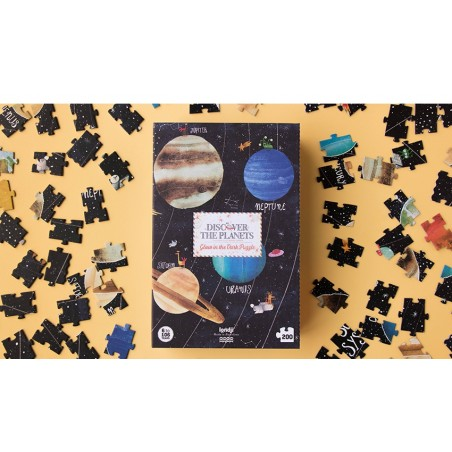 Puzzle - Discover The Planets/Objavuj Planéty